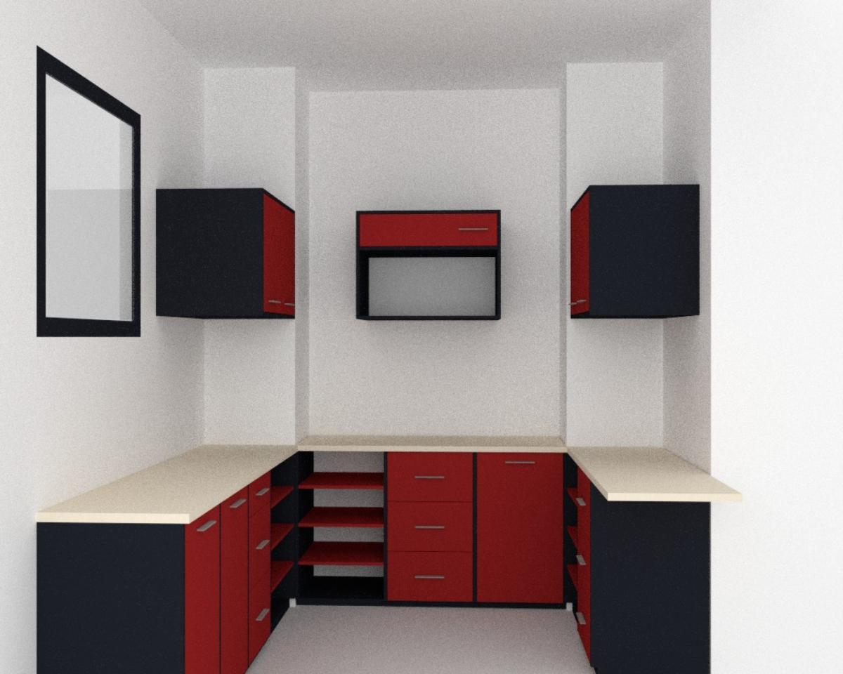 kuchyn textury cervena kitchen closets red